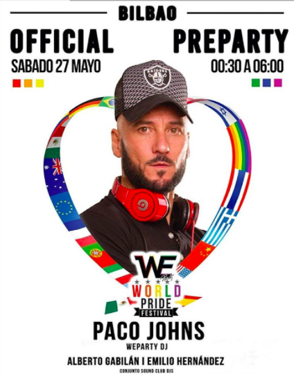 WE Party Dj Paco Johns