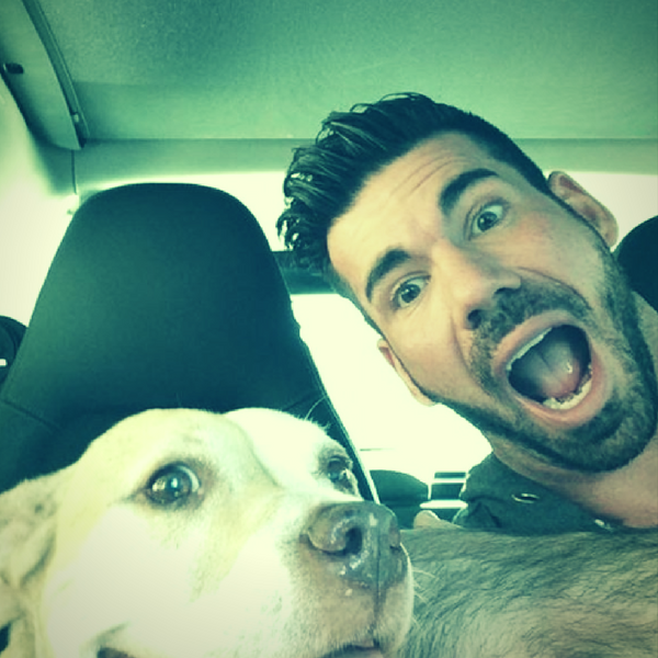 Billy Santoro And His Dog