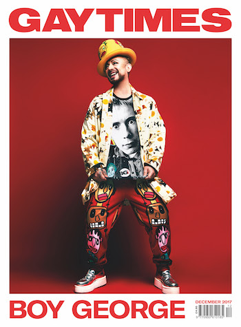 Gay Times Magazine - Boy George
