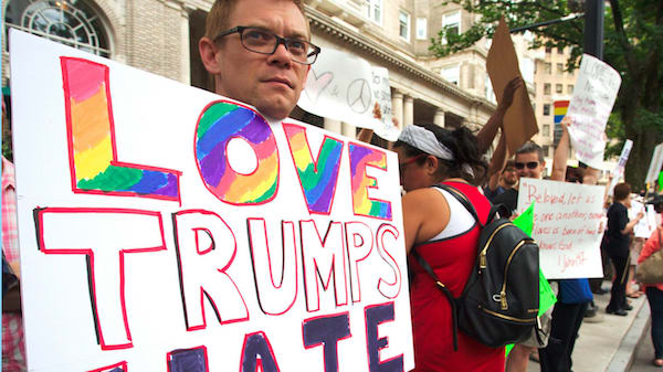 Gay Conservatives - Love Trumps Hate